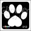 Picture of Heart Paw BG-12 - (5pc pack)