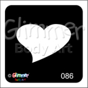 Picture of Single Heart GR-86 - (5pc pack)