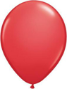"Picture of Qualatex 5"" Round - Red (100/bag)"