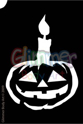 Picture of Lighted Pumpkin Stencil ( 1pc )