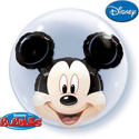 Picture of Mickey Mouse Double Bubble Balloon - 24 Inch