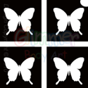 Picture of Mini Butterfly Stencil (4 in 1stencil) - (5pc pack)