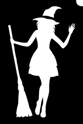 Picture of Witch - Stencil (1pc)