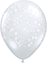 Picture of Qualatex 5'' Clear Stars-A-RND 100/bag