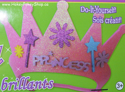 Picture of Krafty Kids Kit: DIY Glitter Princess Tiara - Pink