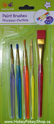 Picture of  Lil' Artist Acrylic Paint Brushes Multi-Colored