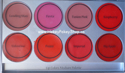 Picture of Mehron L.I.P. Cream Palette 8 Colours Medium  (48g)
