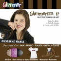 Picture of Mustache Mania - Glimmerize It