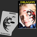 Picture of Dragon Stencil Eyes Profiles - SOBA