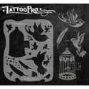 Picture of Tattoo Pro Stencil - Free Birds (ATPS-105)