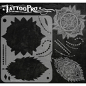Picture of Tattoo Pro Stencil - Lace & Pearls (APTS-120)