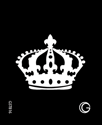 Picture of Basic - HD Stencil -  Crown - B16 (4pc/pk)