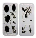 Picture of Ultimate Graffiti Eyes Booster Pak Arrows and Actions Bubbles Stencils