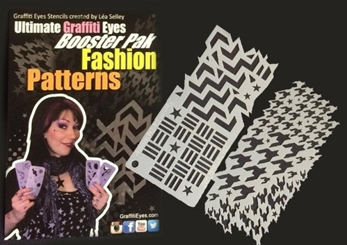 Picture of Ultimate Graffiti Eyes Booster Pak Fashion Patterns! Stencils