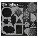 Picture of Tattoo Pro Stencil - Sacred Geometry (ATPS-130)