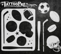 Picture of Tattoo Pro Stencil - Sports (ATPS-148)