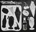 Picture of Tattoo Pro Stencil - Soda Shoppe(ATPS-139)
