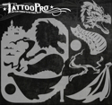 Picture of Tattoo Pro Stencil - Medieval Dragon (ATPS-126)