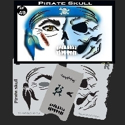 Picture of Pirate Skull Stencil Eyes Child Size - 49SE (8 YRS and UP)