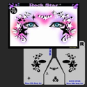 Picture of Rock Star Stencil Eyes - 70SE
