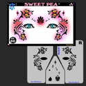 Picture of Sweet Pea Stencil Eyes - 86SE - (8YRS and UP)