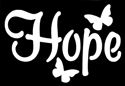 Picture of Hope - Sparkle Stencil (1pc)