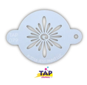 Picture of TAP 079 Face Painting Stencil - Ornate Sun