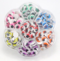 Picture of Self Adhesive Multicoloured Googly Eyes (240 pc)