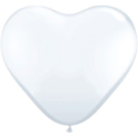 Picture of 6 Inch Heart - Diamond Clear(100/bag)