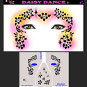Picture of Daisy Dance Stencil Eyes - 13SEc - (Child Size 4-7 YRS OLD)