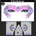Picture of Elektra Stencil Eyes - 14SEc - (Child Size 4-7 YRS OLD)
