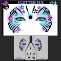 Picture of Flutter Fly Stencil Eyes - 19SEc - (Child Size 4-7 YRS OLD)