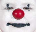 Picture of ProKNOWS Professional Clown Nose -  Large Red Gloss Nose (W-MR)