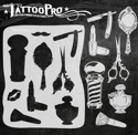 Picture of Tattoo Pro Stencil - Hair & Makeup (ATPS-156)
