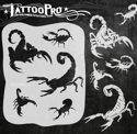 Picture of Tattoo Pro Stencil - Scorpions (ATPS-158)