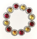 Picture of Double Round Gems - Princess Set - 10mm (12 pc.) (AG-DR2)