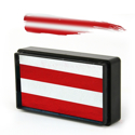 Picture of Silly Farm - Candy Cane Arty Brush Cake - 30g