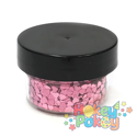 Picture of ABA Chunky Glitter - Pink Hearts (15ml)