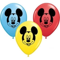 "Picture of 5"" Mickey Mouse Face Balloons (100/bag)"
