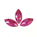 Picture of Pointed Eye Gems - Magenta - 7x15mm (15 pc) (SG-PE2)