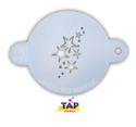 Picture of TAP 012 Face Painting Stencil - Stars