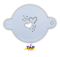 Picture of TAP 007 Face Painting Stencil - Hearts