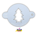 Picture of TAP 036 Face Painting Stencil - Christmas Tree