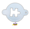 Picture of TAP 040 Face Painting Stencil - Puzzle Piece