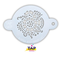 Picture of TAP 047 Face Painting Stencil - Henna Pattern