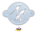 Picture of TAP 051 Face Painting Stencil - Arrow