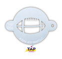 Picture of TAP 056 Face Painting Stencil - Football