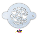 Picture of TAP 058 Face Painting Stencil - Sweet Heart