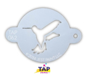 Picture of TAP 062 Face Painting Stencil - Hummingbird