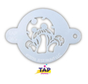 Picture of TAP 065 Face Painting Stencil - Mushrooms